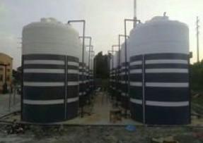 塑料储罐应用于减水剂储存