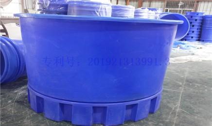 循环水锥底养殖桶
