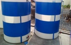 3立方平底塑料水塔