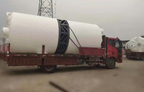 3吨塑料水塔-油品存储PE水塔